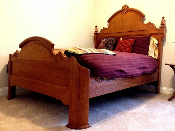 I have a queen Lexington Victorian sampler bed for sale in metro ...