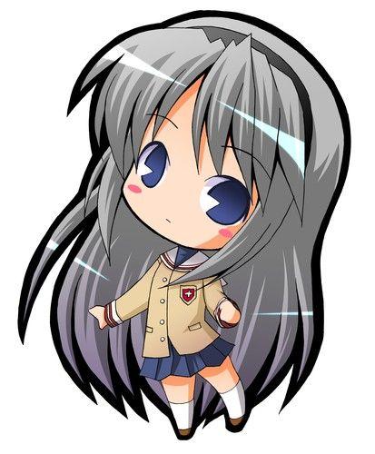 Clannad Chibi 5 Anime Clip Art Chibi Characters Anime Anime Chibi
