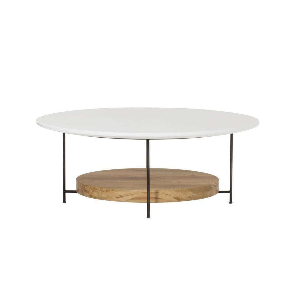 Olivia Round Coffee Table White Coffee Table Round Coffee Table Coffee Table White [ 1000 x 1000 Pixel ]