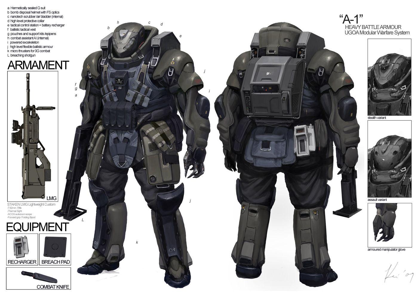 Space Vagabonds: Assaulter by ukitakumuki.deviantart.com on @deviantART