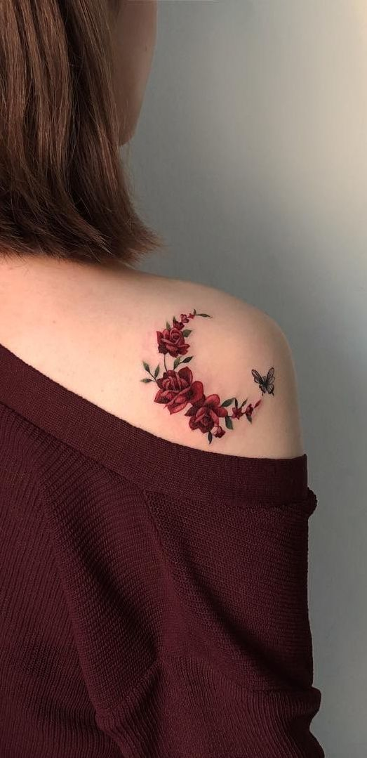 Feed your ink addiction with 50 of the most beautiful rose tattoo designs for men … – Ruth Fer. #flowertattoos – diy tattoo images