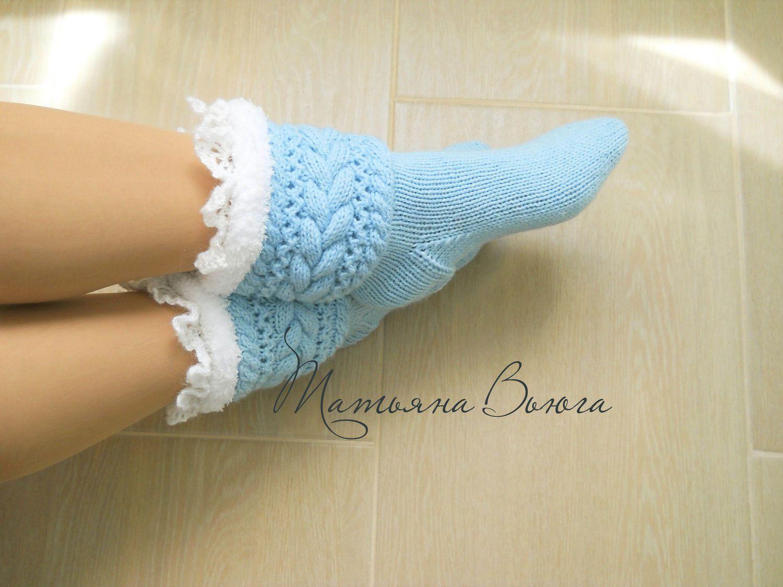 9a9a3de876ad8 Морозко. Носки вязаные, шерстяные – купить в интернет-магазине на Ярмарке  Мастеров с доставкой - FXT49RU | Тверь