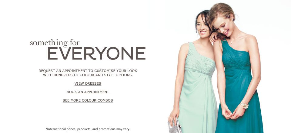 Bridesmaid Dresses and Gowns by David's Bridal UK