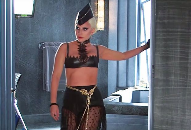 Lady Gaga as the Countess in American Horror Story: Hotel-Alexander McQueen bra