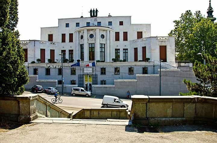 French Embassy viewed from Kalemegdan