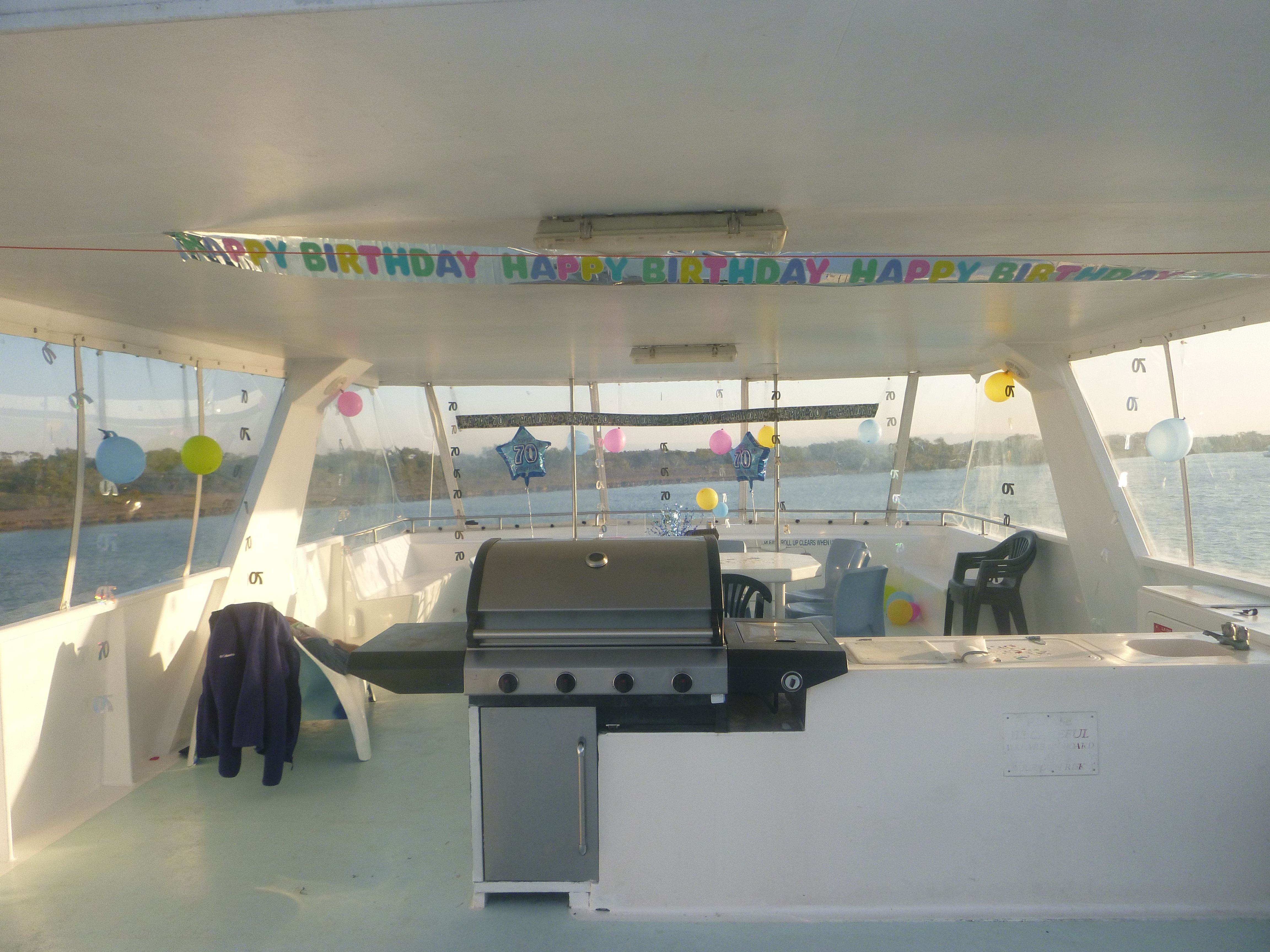 Looks like a great party took place on board Kea Lea! #birthday #party #houseboatrental #houseboathire #holiday #houseboat #kealea