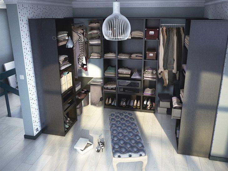 Des Dressing Pour Un Rangement Optimal Leroy Merlin Placard Design Idee Dressing Rangement