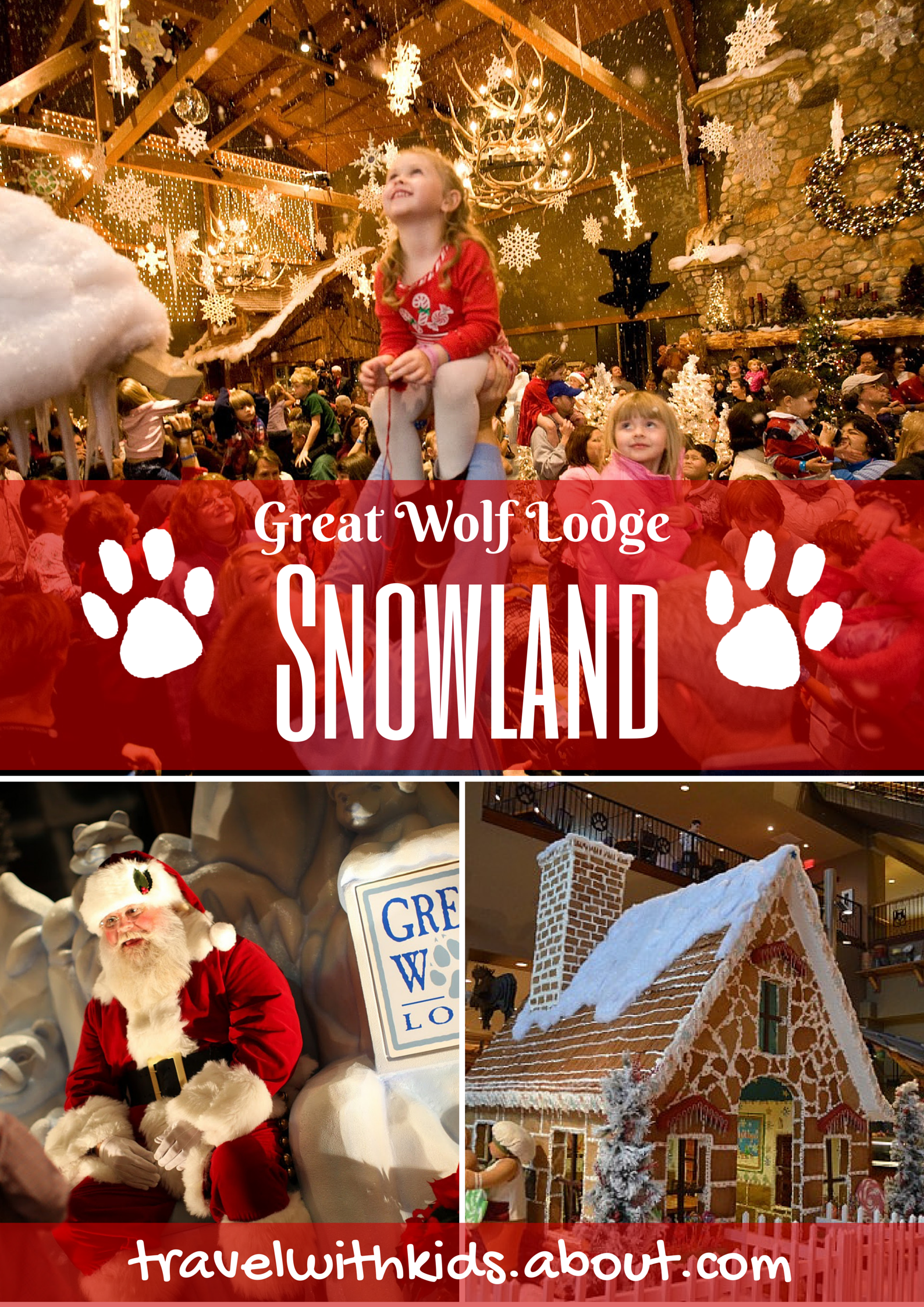 Snowland at Great Wolf Lodge | Wolf lodge, Wolf and Indoor