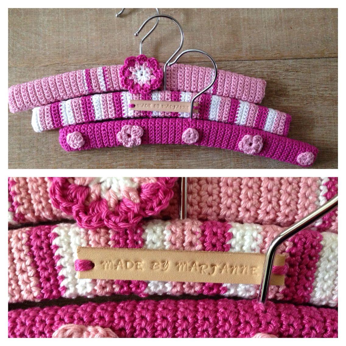 Kledinghanger Haken Crochet Hanger Pinterest Crochet Crochet