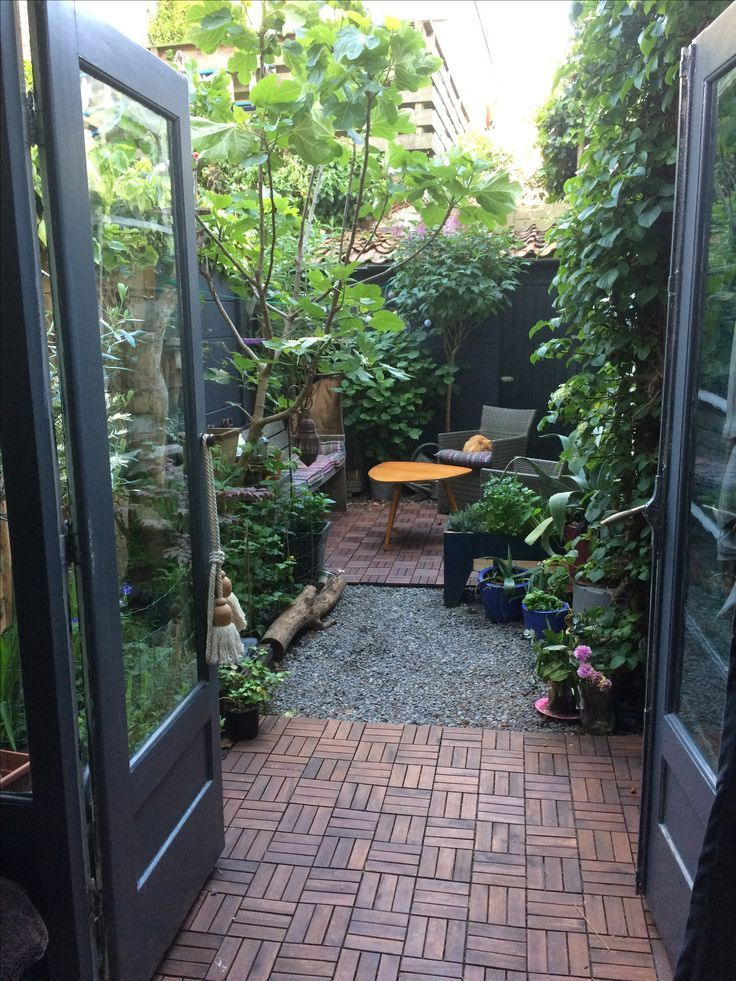 Photo of My little oasis in the city. Patio garden, #garden #small #my #patio #s …#city…
