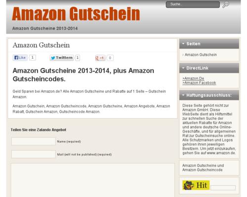 Amazon Gutscheine 2013-2014, plus Amazon Gutscheincodes. Geld Sparen bei Amazon.de? Alle Amazon Gutscheine und Rabatte auf 1 Seite - Gutschein Amazon