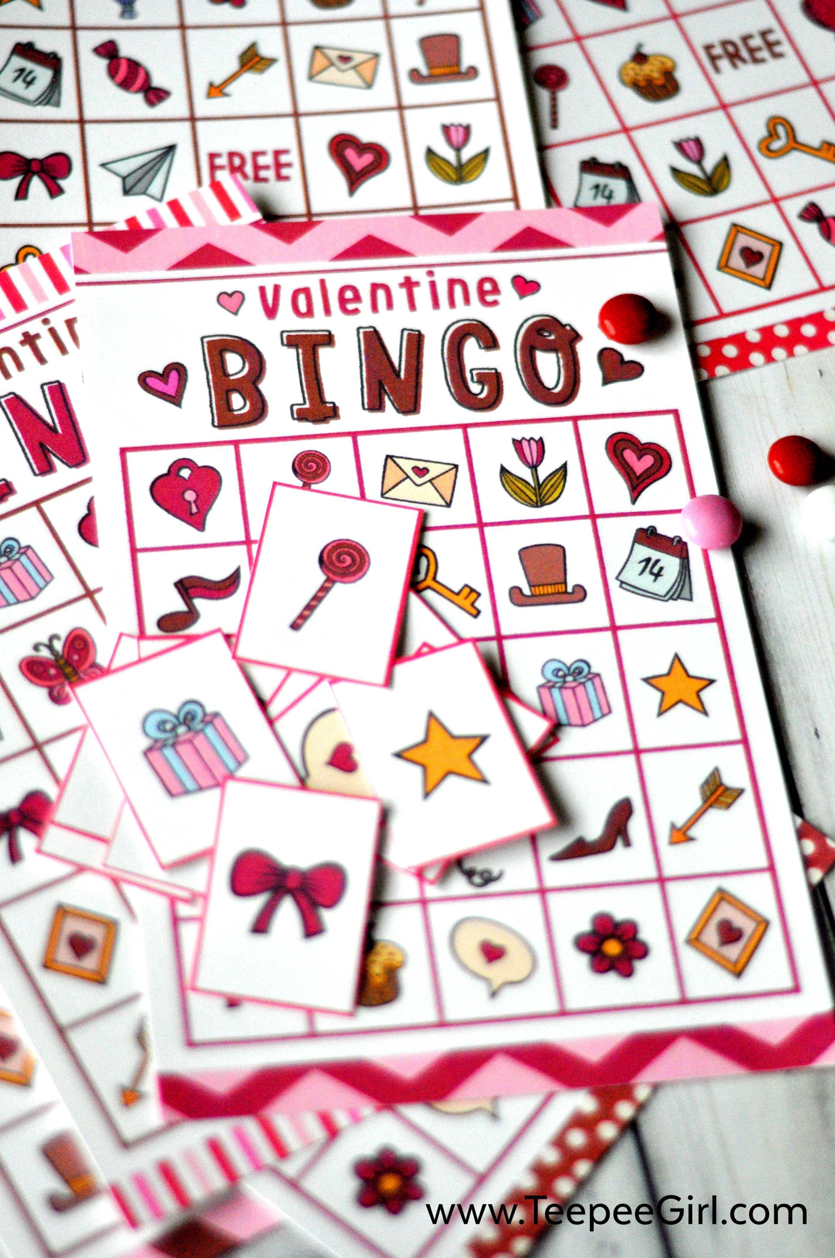 Free Valentines Day Printable Bingo Game