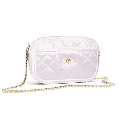 Ariana Grande Quilted Patent Crossbody Bag ♡ Pinterest : @1kco0zwe8r4mzzk