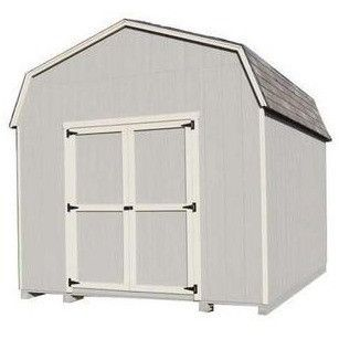 Little Cottage Co 12X18 6 Value Gambrel Barn Wood Storage Shed Kit |  Cottages, Sheds And Gambrel