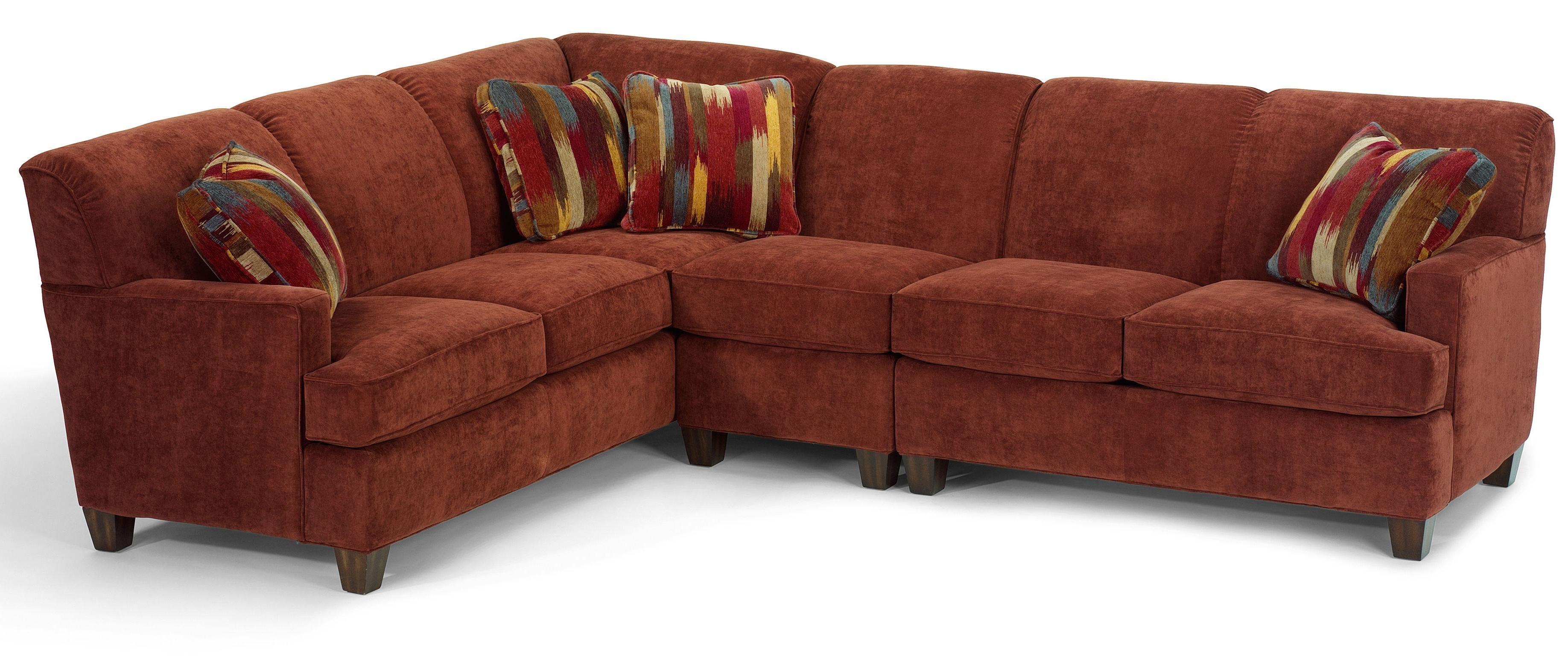 Swell Dempsey Contemporary 3 Piece Sectional Sofa With Raf Creativecarmelina Interior Chair Design Creativecarmelinacom