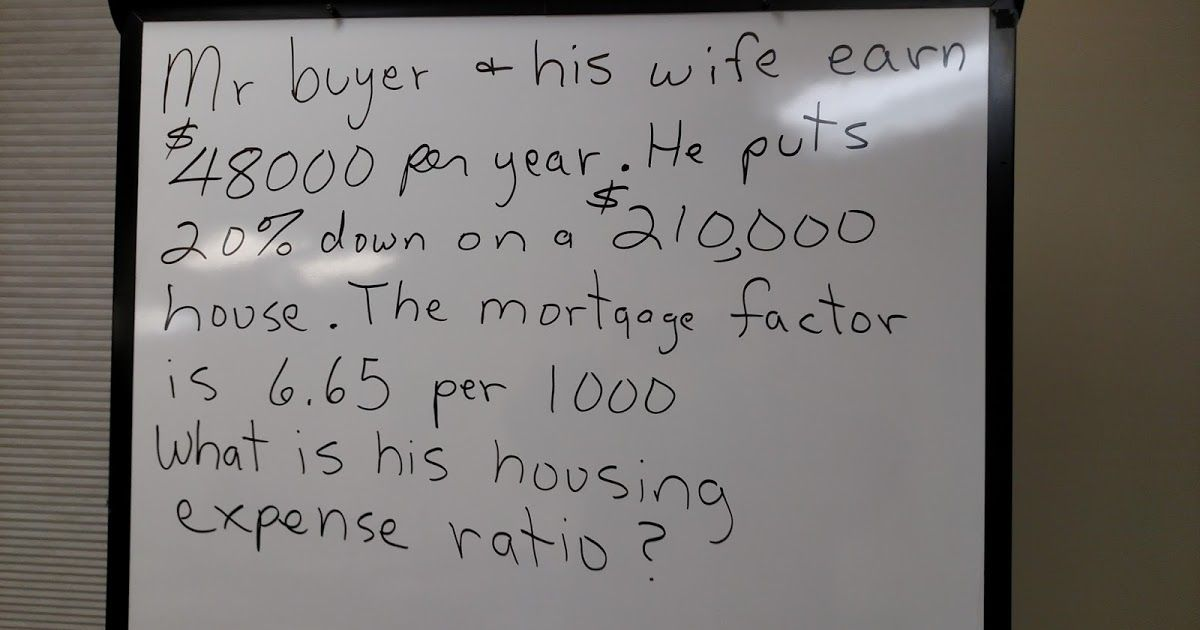 If this math question were on your north carolina real