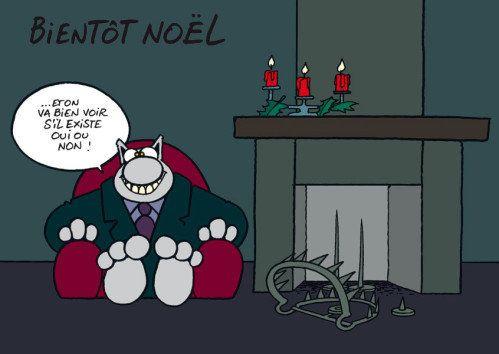 Joyeux Noël à Tous Joyeux Noel Humour Le Chat Geluck