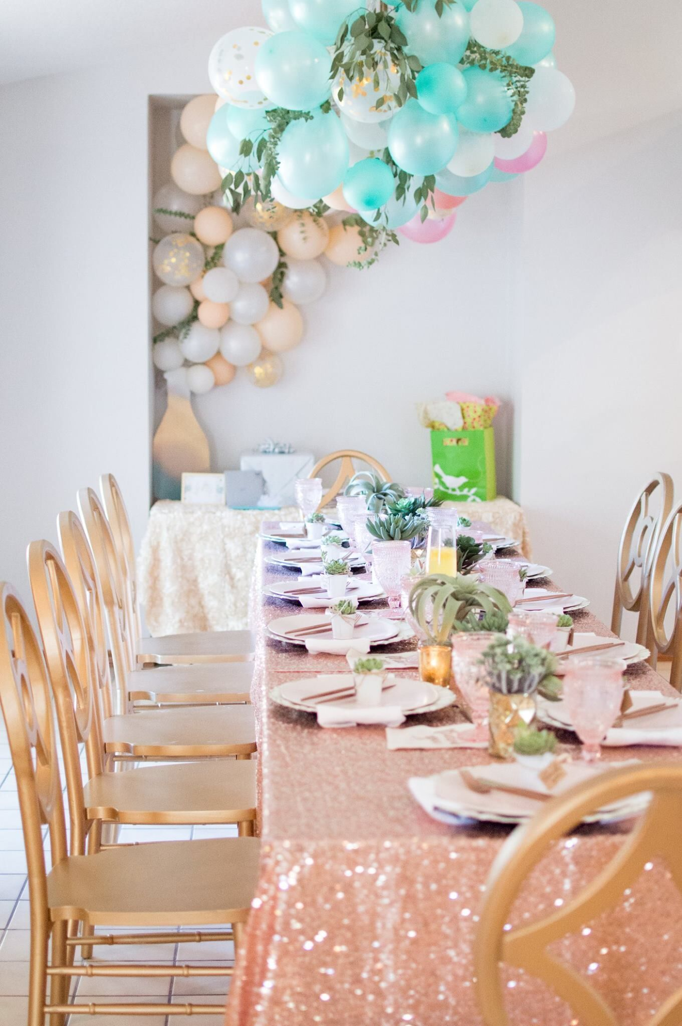 Gold Vineyard Mismatched Chairs Orlando Wedding and