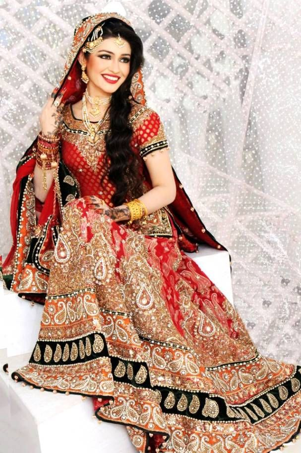 Fashion indian muslim wedding dresses bridal dresses for Indian muslim wedding dress