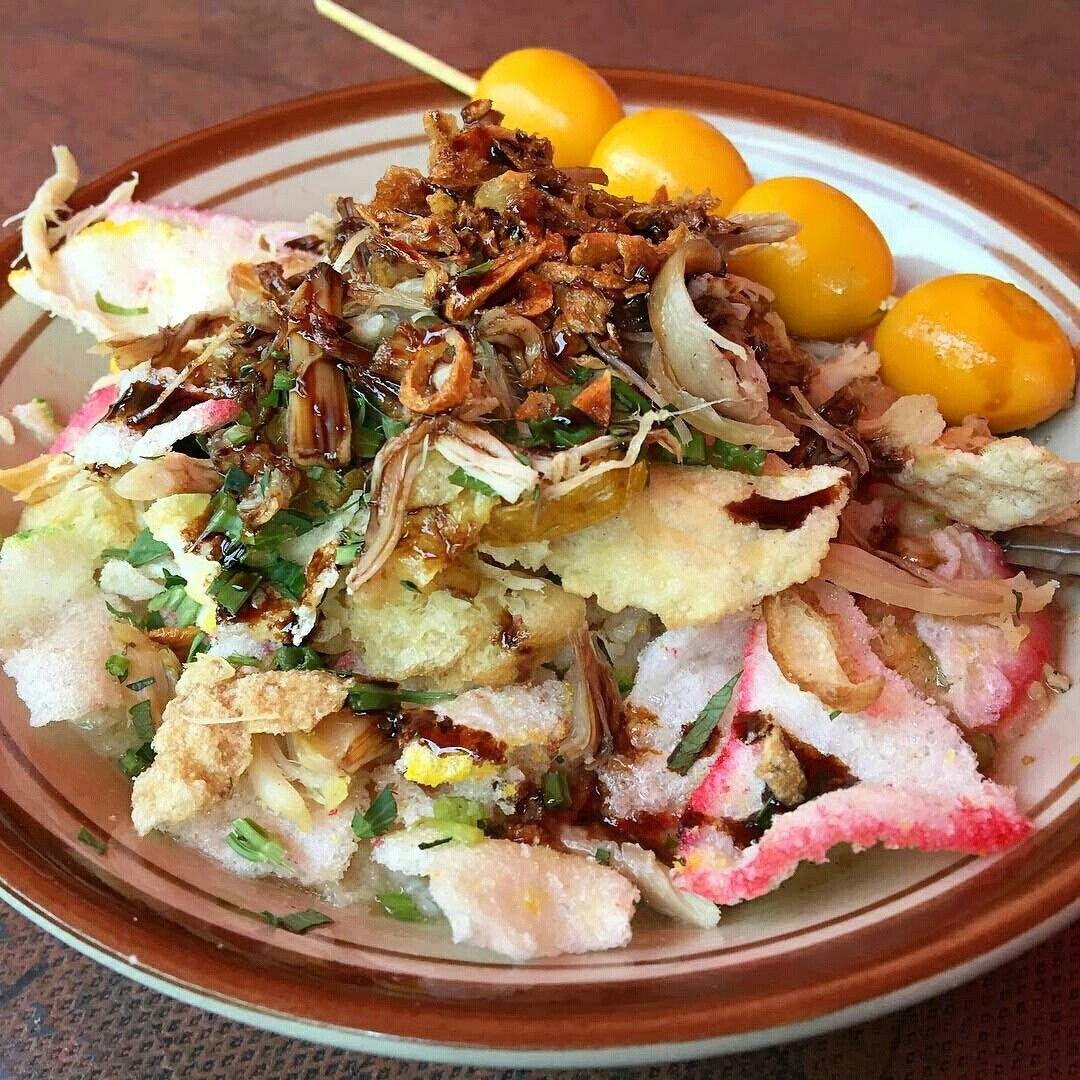 Bubur Ayam Jakarta Ide Makanan Makanan Ayam