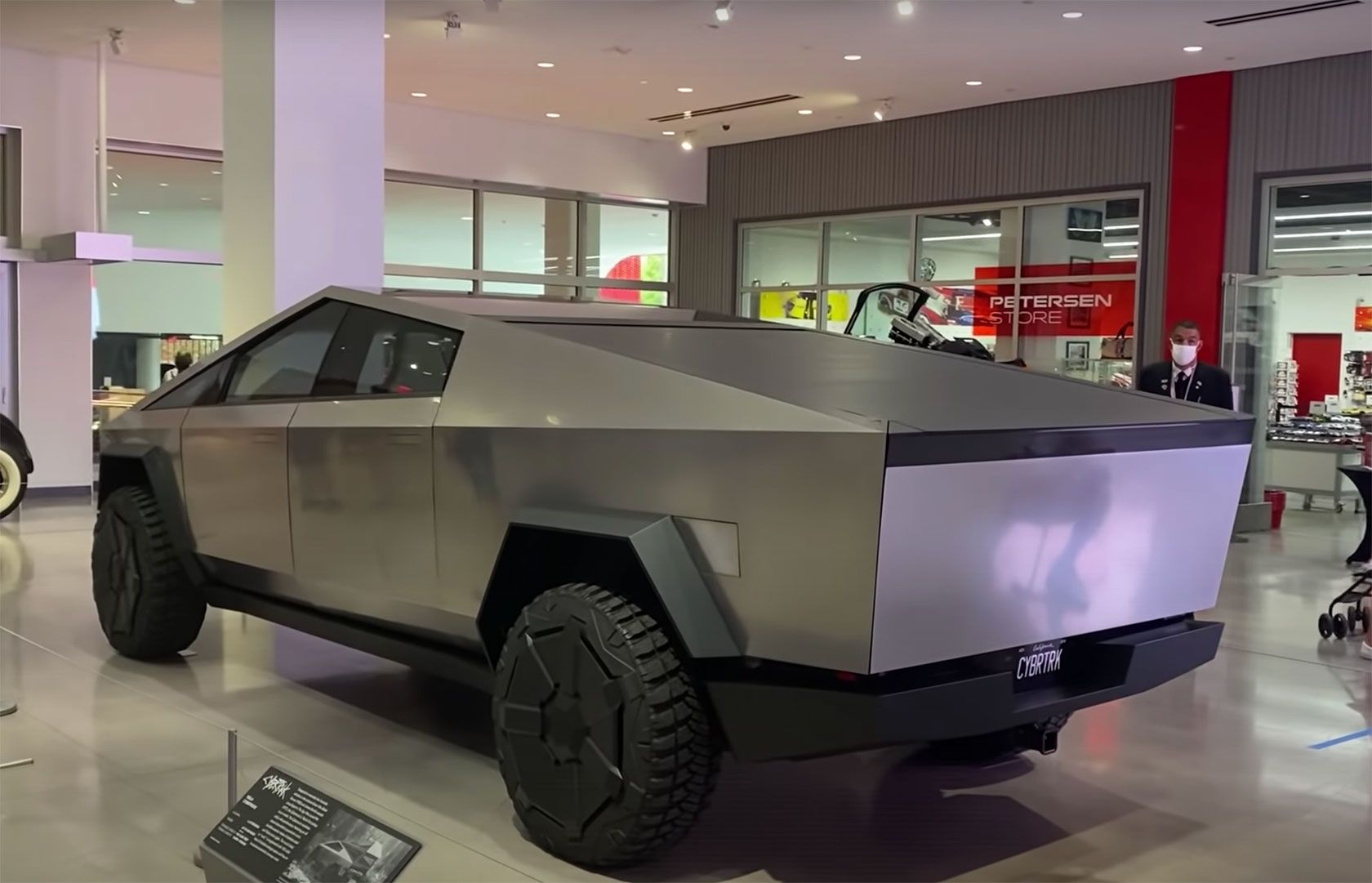 View The Cybertruck In Person Tesla Los Angeles Museum Automotive