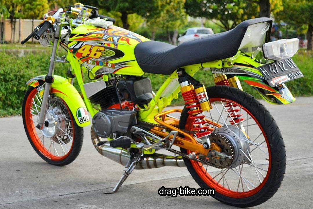 50 Foto Gambar Modifikasi Motor Rx King Drag Racing Thailook