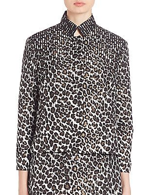 Creatures of the Wind Jindra Leopard Jacket