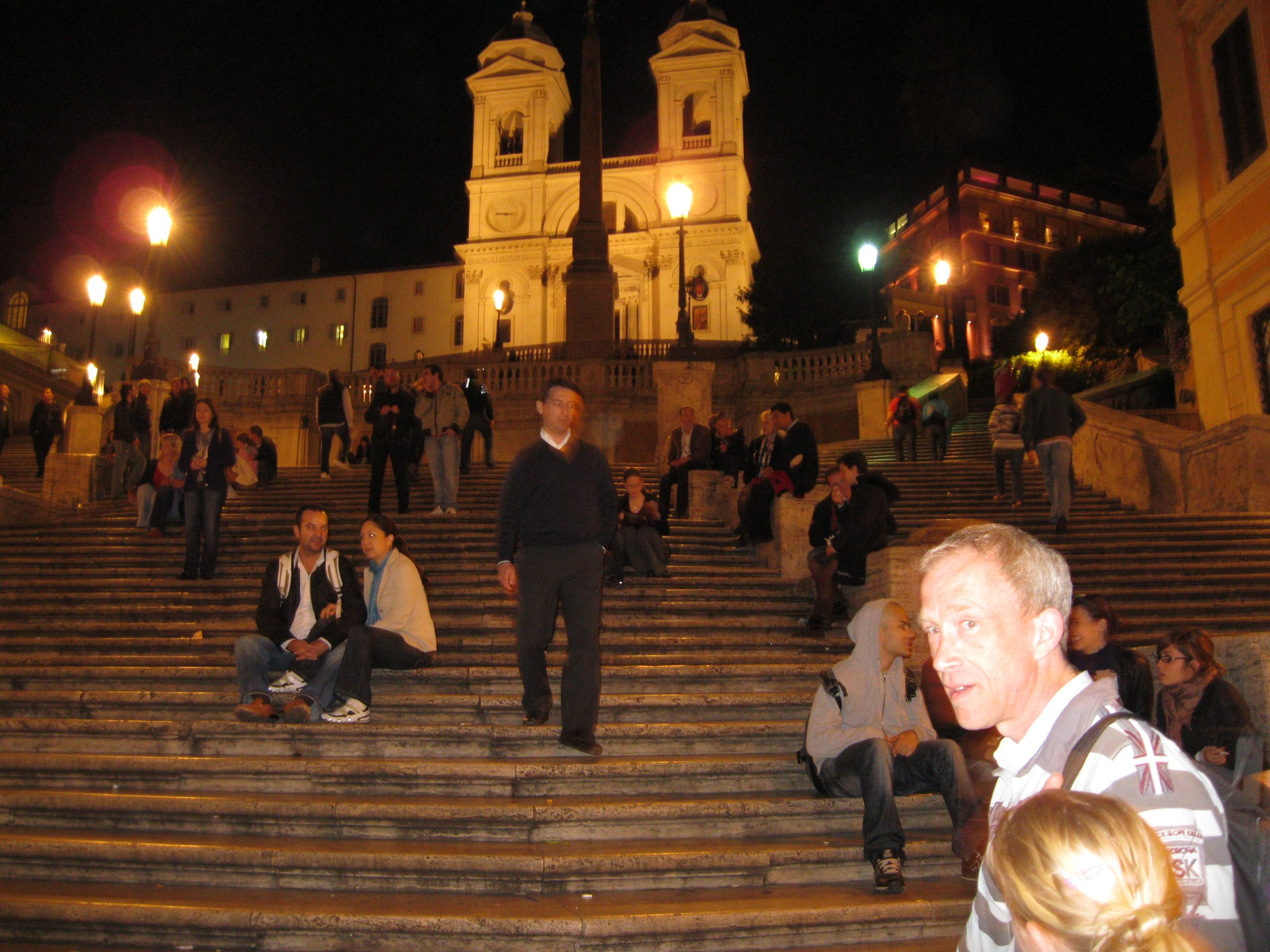 Steps of Spain, in Rome, Italy