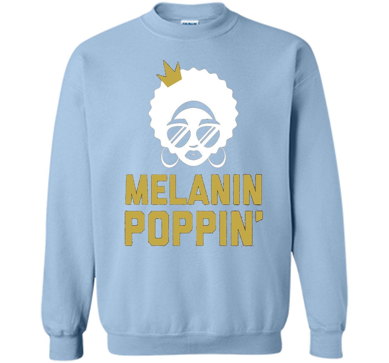 Melanin Poppin Shirt Melanin T Shirt Queen Skin Color Cool Shirts Cool T Shirts Koala Shirt