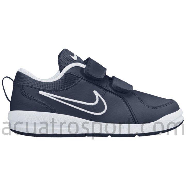 Zapatillas NIKE PICO 4 Tiempo libre y sportwear Zapatillas Nike Pico 4 en  colores azul marino y blanco para niño. Parte superior en material  sintético de ...
