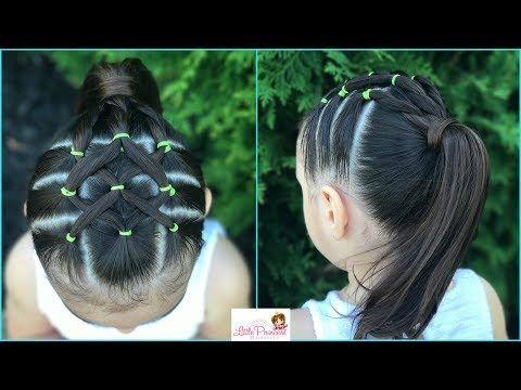 Peinado para niñas la maya con coleta Peinados faciles y rapidos