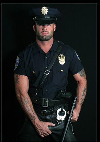 Gay black cop
