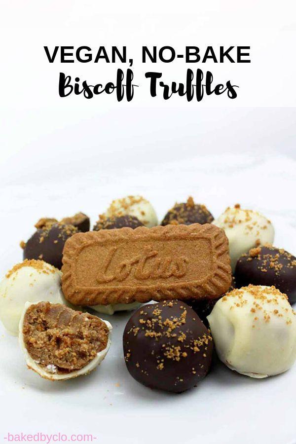 No bake vegan Biscoff cheesecake truffles. Super kid-friendly dessert with only ...