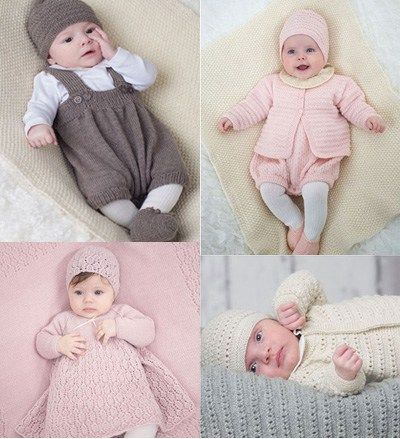 2f06c26c7 Layette Knitting patterns - Baby Layettes Knit Book Includes 6 ...