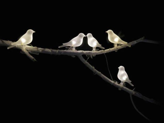 Good IKEA Solar Powered Bird Lighting