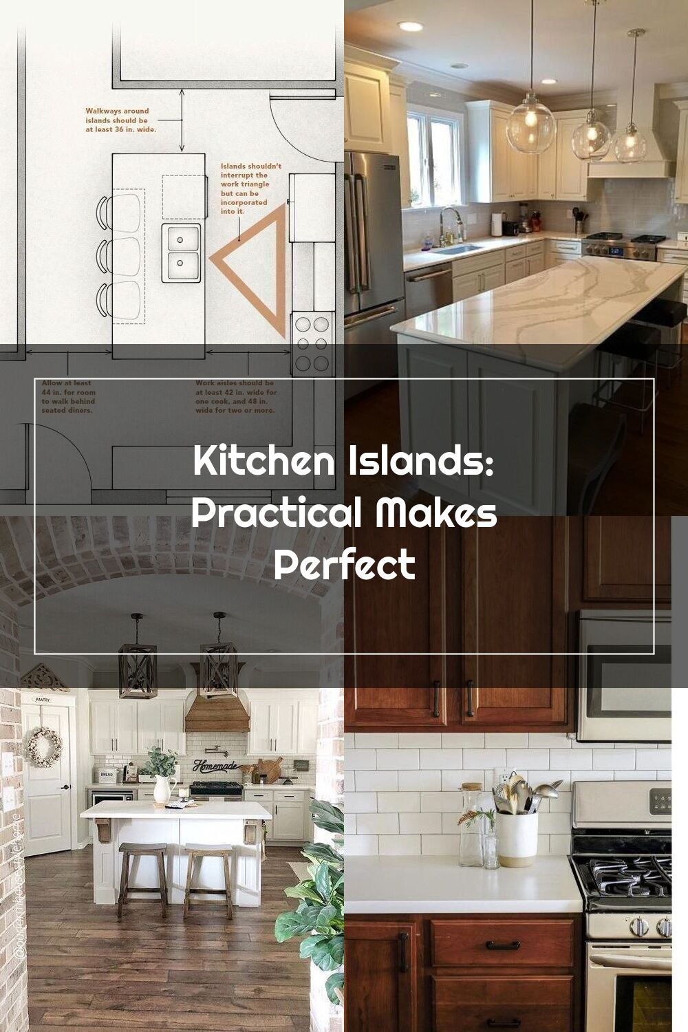 Kitchen Islands Practical Makes Perfect Kitchenlayouts In 2020 Kitchen Layout Kitchen Remodel Kitchen
