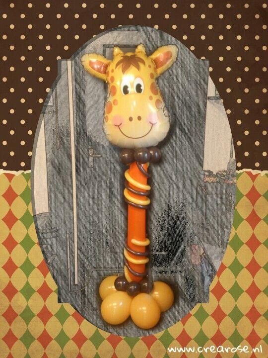 Giraf Qualatex Foil Balloon