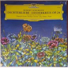 Robert Schumann: Dichterliebe - Liederkreis Op.24 (Les Amours Du Poete) by Dietrich Fischer-Dieskau/Jorg Demus from Deutsche Grammophon (139 109)