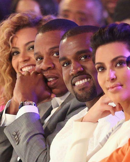 Kim Kanye Jay Z Beyonce Beyonce And Jay Kanye West And Kim Beyonce And Jay Z