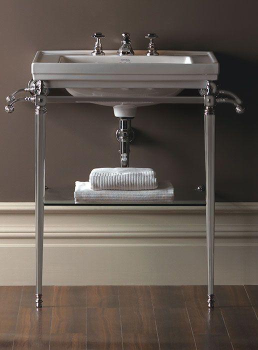 grand lavabo poser astoria deco basin stands imperial. Black Bedroom Furniture Sets. Home Design Ideas