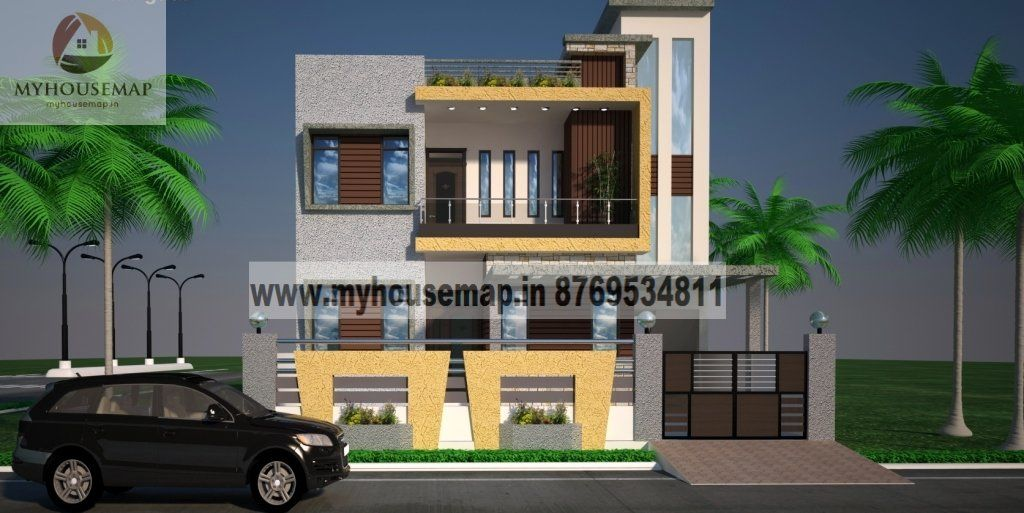 house plans double floor 40.30 in 2019 | House design ...