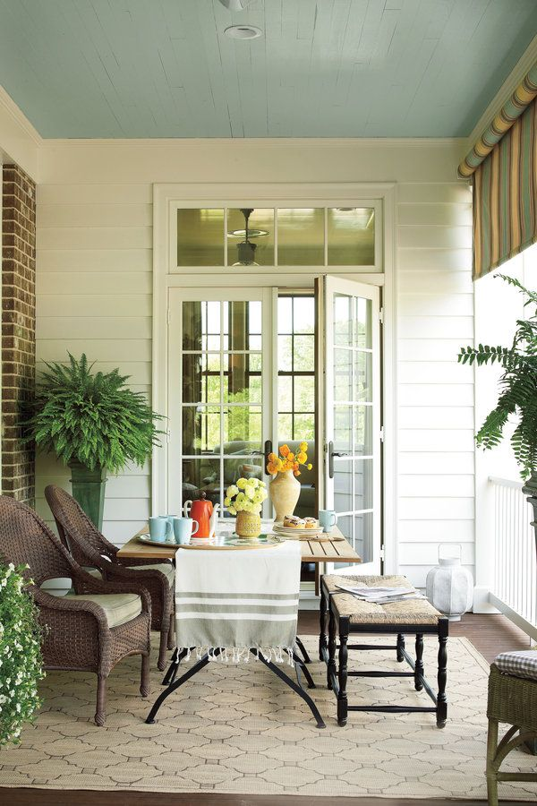 80 Breezy Porches And Patios With Images Outdoor Rooms
