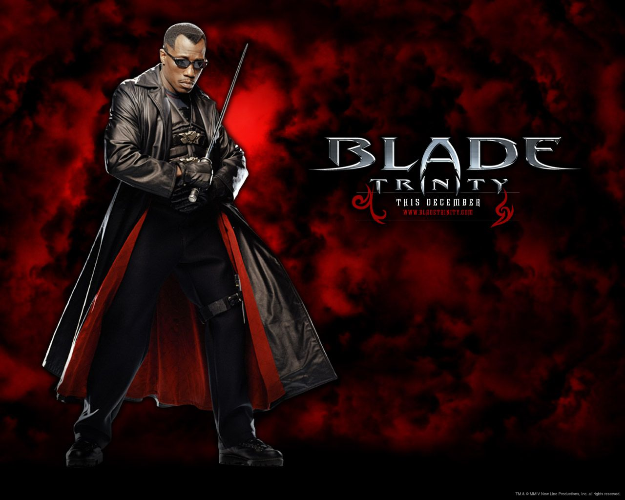 Wesley Snipes Returns As The Day Walking Vampire Hunter In The Explosive Third And Final Film In The Blade Franchise B Blade Movie Blade Film Movie Wallpapers