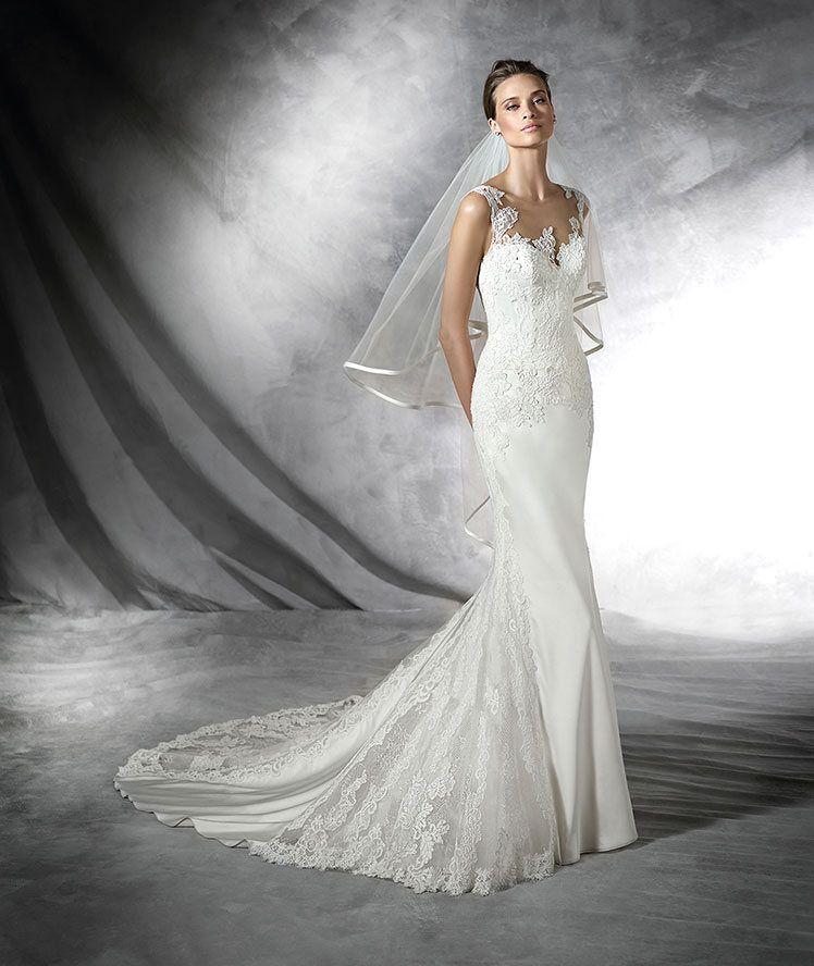 PRESEA - Mermaid wedding dress with sweetheart neckline | Satin ...
