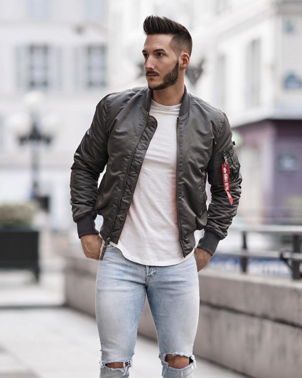 bf61ed6a150 Best Men s Bomber Jackets Collection For This Fall 2018 27