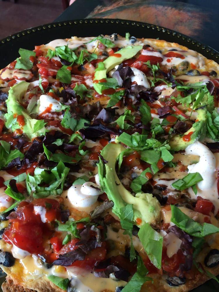 Dellz Uptown Charleston South Carolina Vegan Jazzy Pizza