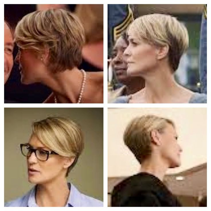 Robin Wright Haircut Robin Wright In House Of Cards Love The Cut