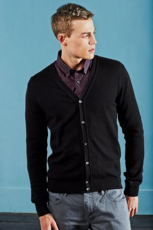 Cardie for Shane - navy fine knit - Next €31