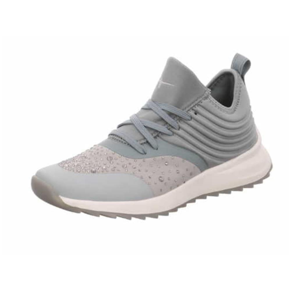 TAMARIS Sneakers Damen, Grau Pastellgrün, Größe 42 in 2020