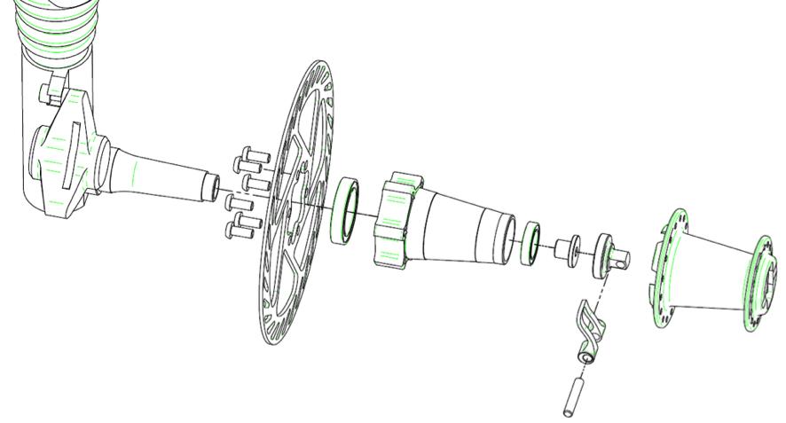 Ejes De Ruedas Tipos Y Medidas Los Ejes De Rueda Al Igual Que Otros Componentes Han Venido Desarrollando Una Evoluci Mecanica De Bicicletas Bicicletas Ruedas